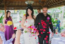 Wedding Alice & Scott at Segara Village Hotel by Byrdhouse Beach Club