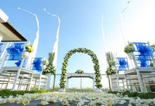 Ocean Blue Wedding by The Kirana Hotel, Resto and Spa - Canggu