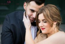 Samantha & Thibaud by Dewi Tan Makeup