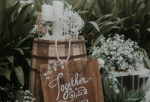 Petra & Firrina Wedding by Bonzai Decoration