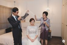 Actual Day Photography - Priscilla & Weiliang by Knotties Frame
