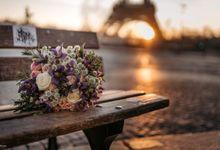 Exclusive Paris Pre Wedding Photo Shoot at Château de Fontainebleau by Février Photography   Paris Photographer