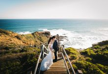 Aster & Jon Prewedding Melbourne by Feztography