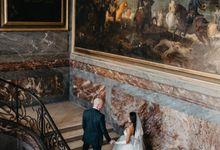 Exclusive Paris Pre Wedding Photo Shoot at Château de Fontainebleau by Février Photography | Paris Photographer