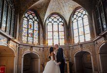 Exclusive Paris Pre Wedding Photo Shoot at Chateau de Fontainebleau by Février Photography | Paris Photographer