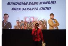 Nobar Bank Mandiri Area Cikini by Wildan Fahmi MC
