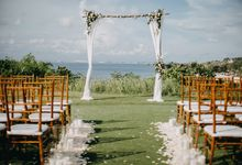 Sweet Rustic Wedding at New Kuta Golf & Villa Bayu Bali by Silverdust Decoration