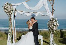 Elopement: Joicy & Rene Wedding at Villa Latitude by Amora Bali Weddings