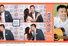 Photobooth with Ceramic Mugs by Contact Live Photography