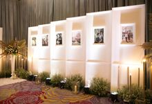Decorated Foyer Area Skenoo Hall October 12 by Skenoo Hall Emporium Pluit by IKK Wedding