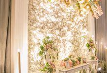 Decorated Foyer Area Skenoo Hall October 12 by IKK Wedding Venue