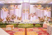 Newly Decorated Skenoo Hall by IKK Wedding Venue