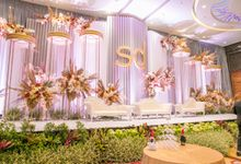 Newly Decorated Skenoo Hall by Skenoo Hall Emporium Pluit by IKK Wedding