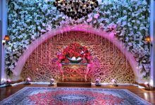 Beautiful Wedding Light of Chila & Ibong by Etcetera Lighting