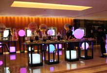 Wireless LED Furniture Portfolio by Airstar Indonesia