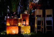 Yana & Satria - Engagement Decoration by Pinecone Event Decoration