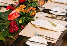 Intimate Wedding at Vineyard Hort Park by Vineyard at HortPark