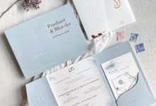 Prashant & Bhavika Trifold Invitation by Sho Paper