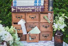 A Vintage Botanical Styled Shoot by Our Fairytale Wedding