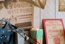Una boda de cine rustica by Nada Convencional