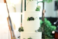 Wedding Cake - Agung & Ardilla by Lareia Cake & Co.
