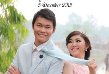 Wedding Day of Beny & Novita by Our Organizer