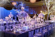 A Winter Fantasy Wedding by Our Fairytale Wedding