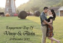 Engagement Day of Vinsy & Alvin by Our Organizer