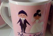 Mug for Wedding Souvenir by Cherishe Gifts