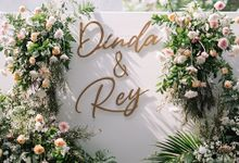 Engagement of Dinda and Rey by Azila Villa