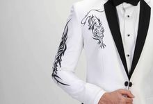 Characterized Prewed Suit 2018 by Ventlee Groom Centre