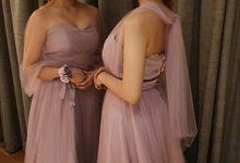 Leonardo & Natasha Wedding by Capella Usher & Gown