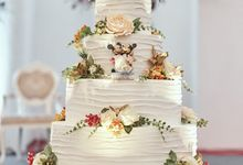 The Wedding Cakes by Skenoo Hall Emporium Pluit by IKK Wedding