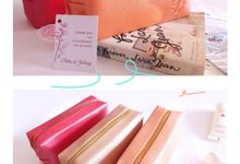 Cosmetic Pouch Putra & Juliany by Princess Wedding4u