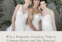 WIN A TRIP TO CRIMSON BORACAY by Francis Libiran Bridal