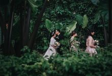 Garden Intimate Wedding of Budi & Angelina by AS2 Wedding Organizer
