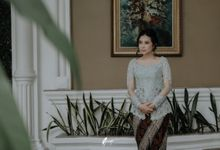the engagement of niken & dipo by Armadani Organizer