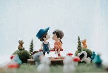 Garden Intimate Wedding of Budi & Angelina by AS2 Wedding Organizer