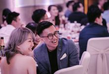 Celebrating Han Shi & Cindy (Reception Dinner) by Andrew Koe Photography