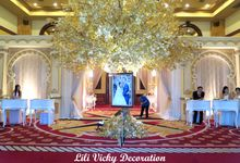 The wedding of Ayu & Martin  // 8 okt 2017 // Balai Samudra by Lili Vicky Decoration