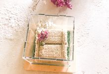Rustic Ring Box  & Ring Bearer by Soca Atelier