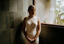 Intimate Wedding Celebration Of Linda & Jonathan In Ubud by Amora Bali Weddings