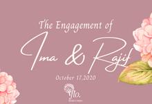 Ima & Rajif Engangement by Wedding by Flo