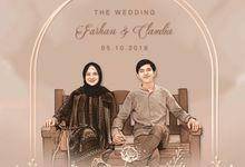 Farhan & Claudia Digital Invitation - Sketch Package by Gai Shan Lab