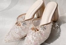 Gold for Bridal Shoes by Kasa The Label