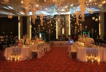 Paul and Robyn Wedding at Sofitel Manila Grand Ballroom by Orange Lights and Sounds Inc.