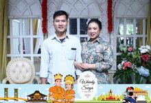 Whindy & Surya Wedding by Foto moto photobooth
