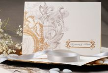 GOLDEN ROYAL BAROQUE INVITATION by ES PROUD INVITATIONS