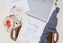 The Wedding of David & Cintia by SentimeterCard