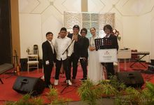 Wedding RWM entertainment music  Yasmin Harmony Bogor  10 Maret 2019 by ronald wilson music